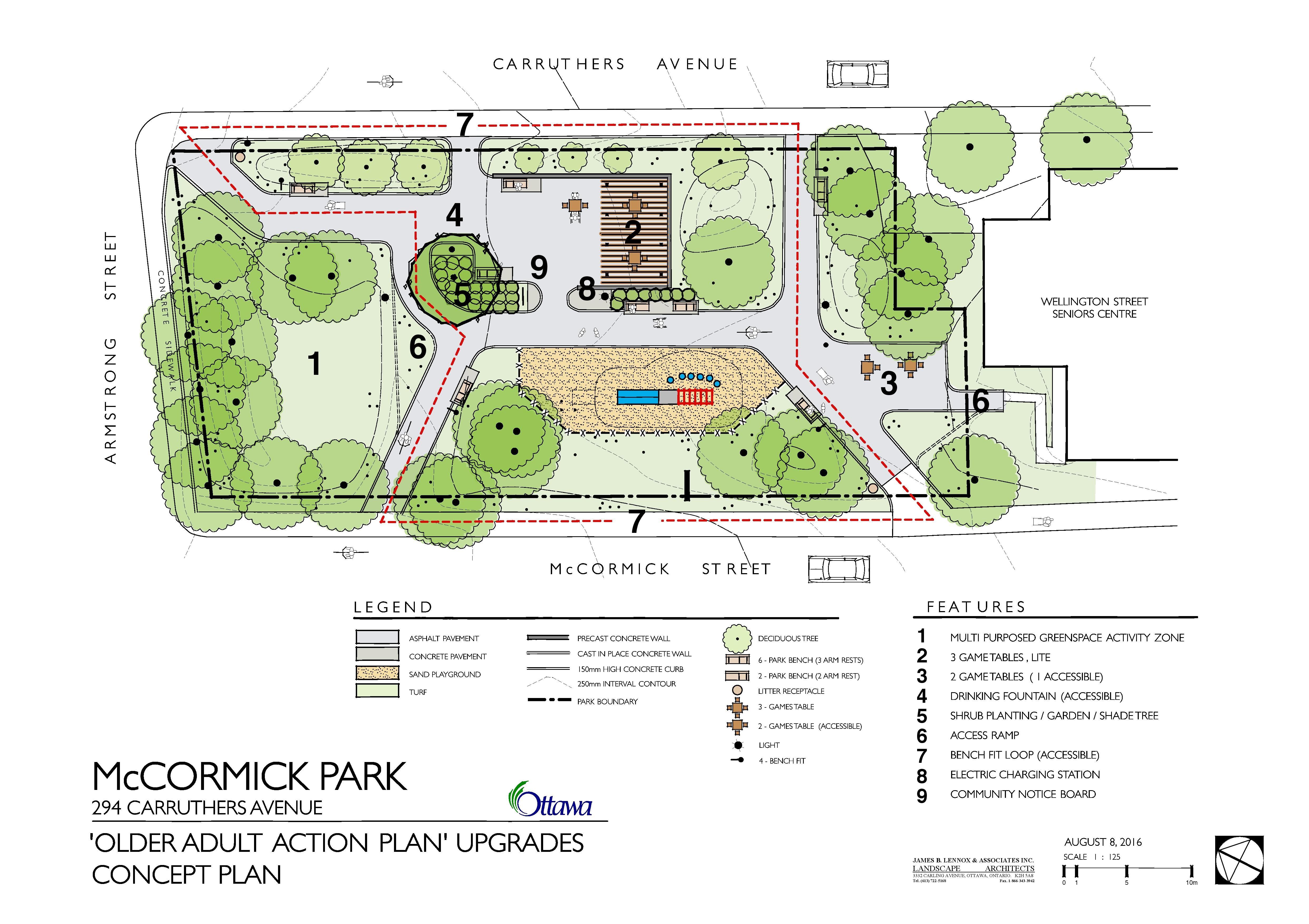 Plan Concept mccormick park plan concept plan kitchissippi ward