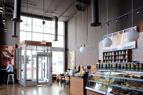 Interior shot, Bridgehead on Golden Avenue